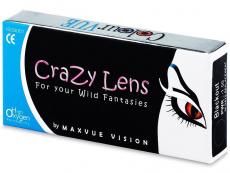 Kontaktní čočky Maxvue Vision - ColourVUE Crazy Lens - dioptrické tříměsíční (2čočky)