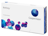 Biofinity (3 čočky) -  Monthly contact lenses