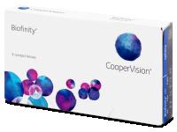 Biofinity (3čočky) -  Monthly contact lenses