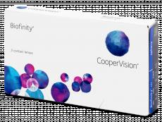Měsíční kontaktní čočky - Biofinity (3čočky)