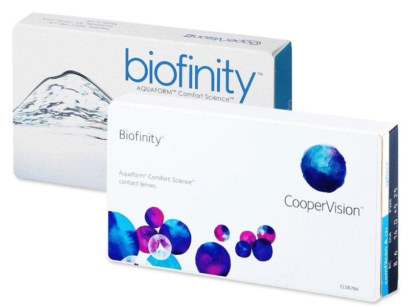 Předchozí design - Biofinity (3čočky)