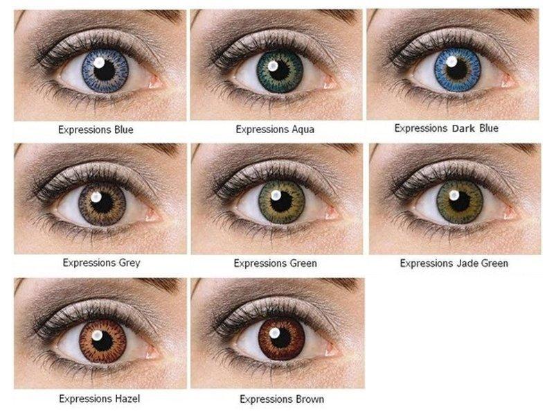 Expressions Colors - nedioptrické (1 čočka)