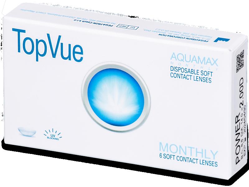 TopVue Monthly (6čoček) - Měsíční kontaktní čočky