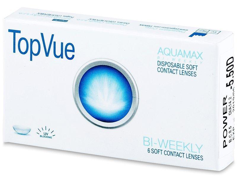 TopVue Bi-weekly (6čoček) - Čtrnáctidenní kontaktní čočky - TopVue