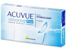 Kontaktní čočky levně - Acuvue Advance PLUS (6čoček)