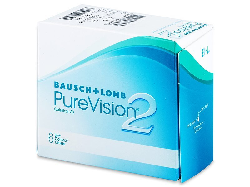 PureVision 2 (6čoček) - Měsíční kontaktní čočky - Bausch and Lomb