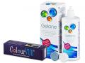 ColourVUE Crazy Lens - nedioptrické (2čočky) + roztok Gelone 360ml