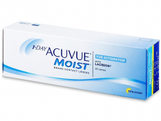 Kontaktní čočky Johnson and Johnson - 1 Day Acuvue Moist for Astigmatism (30 čoček)