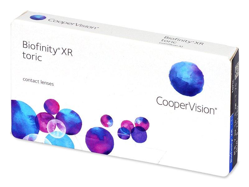 Torické kontaktní čočky - Biofinity XR Toric (3 čočky)