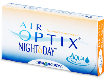 Air Optix Night and Day Aqua (3čočky) - Předchozí design