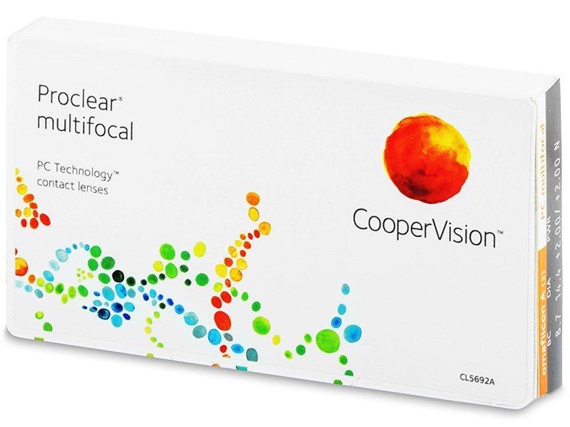 Proclear Multifocal (6čoček) - Multifokální kontaktní čočky - CooperVision
